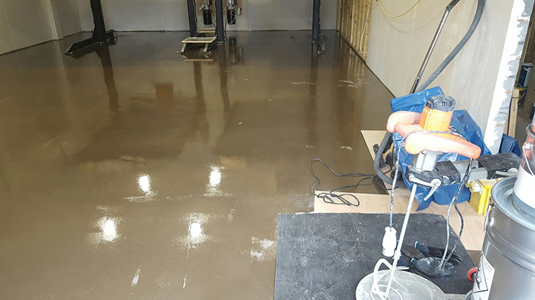 Liquid Epoxy DPM primer.